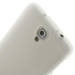 Note 3 Neo tpu hoesje mat wit