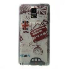 Flexibele hoes met Britse logo's voor Galaxy Note 4