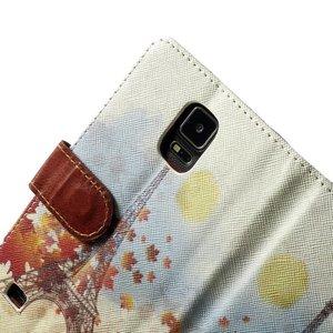 eifeltoren in de herfst portemonnee hoesje Note 4