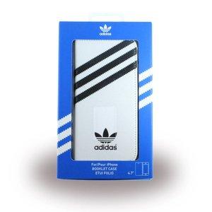Adidas portemonnee wit met zwart iPhone 6