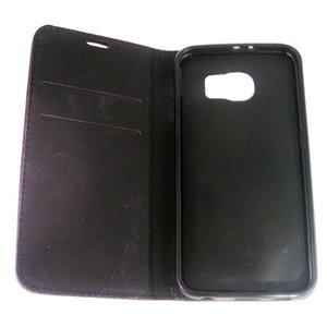 Geruit portemonnee hoesje leer voor de samsung Galaxy S7