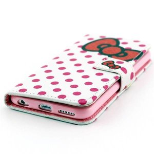 Rode strik en stippels iPhone 6