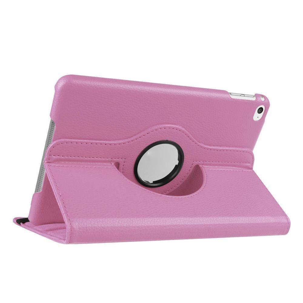 Roteerbare hoes iPad mini 4 - Roze