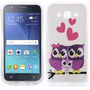 verliefde uiltjes Galaxy J5 TPU hoesje