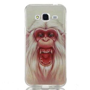 Witte Gorilla Samsung J5 tpu hoesje