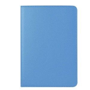 Roteerbare hoes iPad mini 4 - Lichtblauw