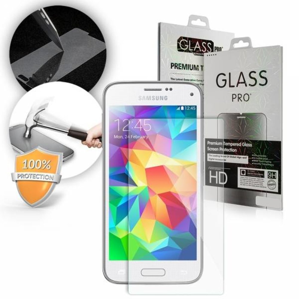 GLASS PRO+ Samsung Galaxy S5 Mini Tempered Glass Screen protector