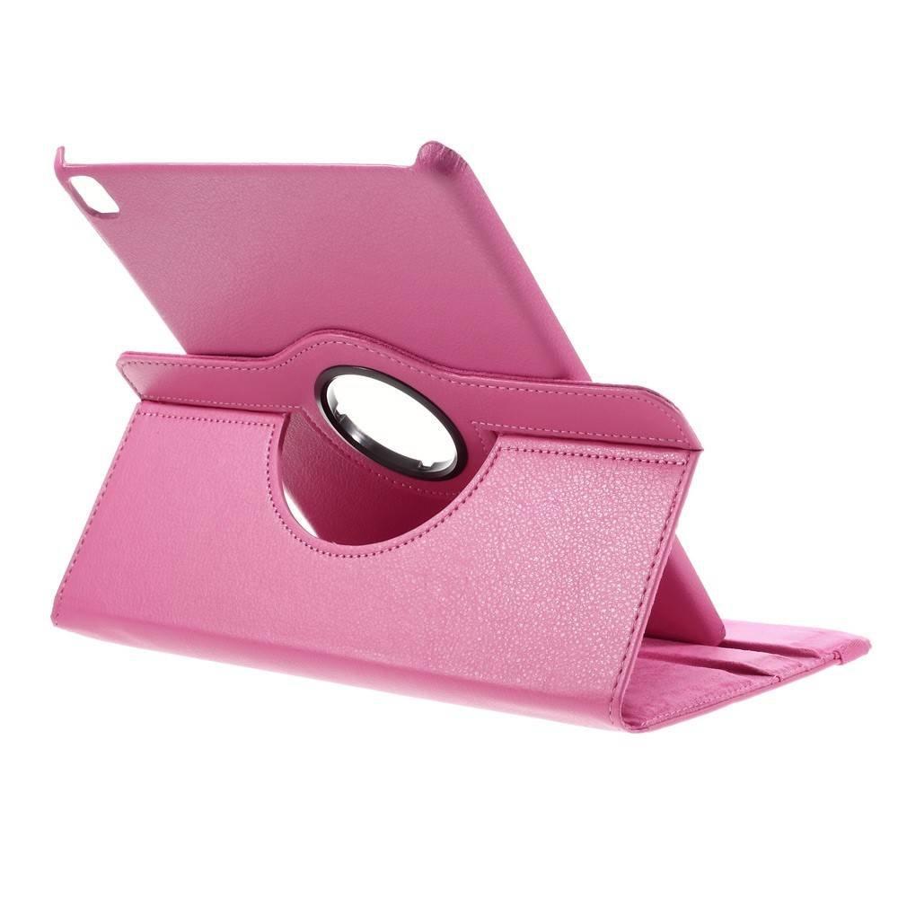 iPad Pro 9.7 hoes 360 graden roteerbaar Litchi Leder Licht-roze