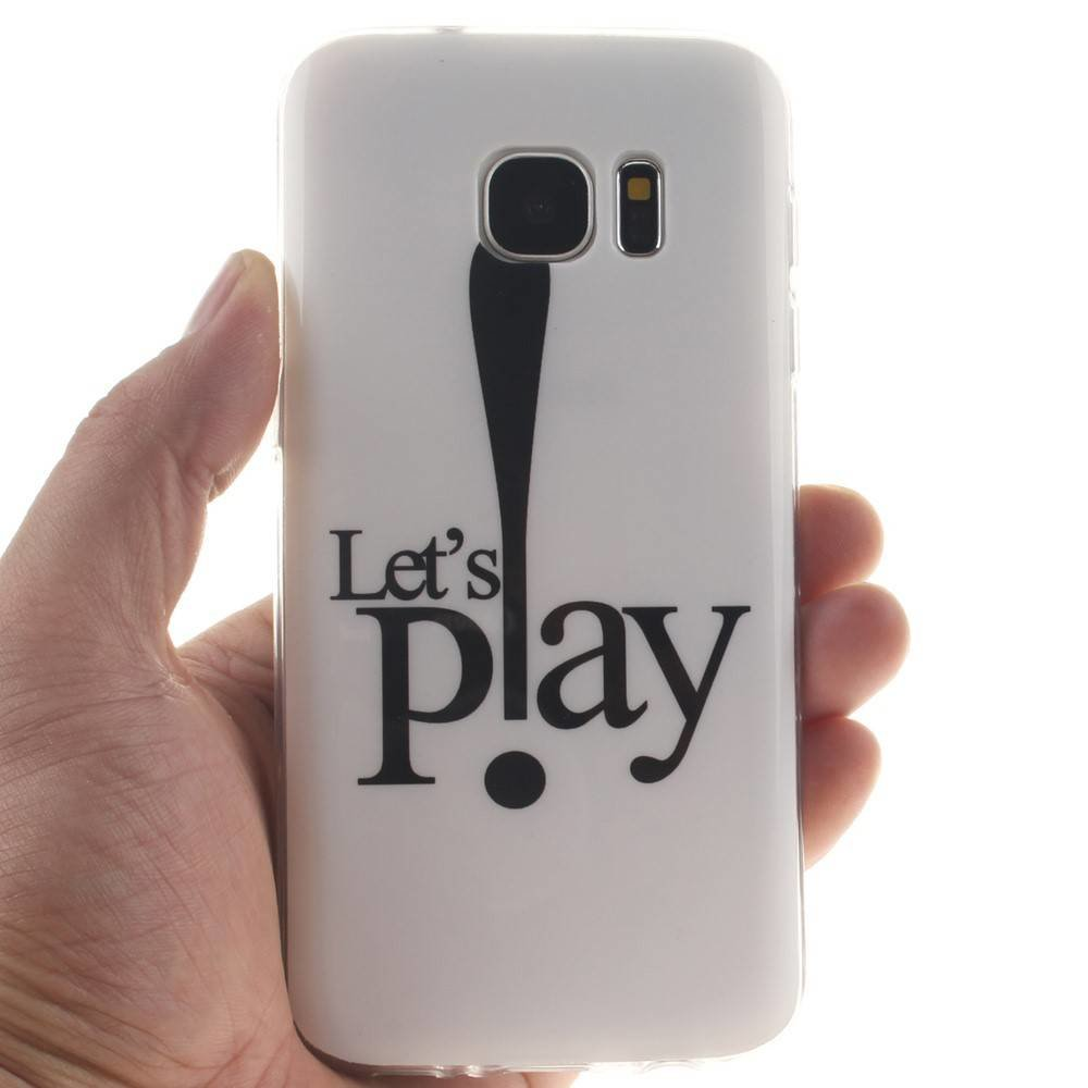 Let's Play TPU hoesje Samsung Galaxy S7