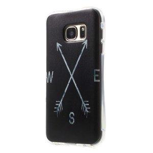 Kompas TPU hoesje Samsung Galaxy S7 luchtkussens