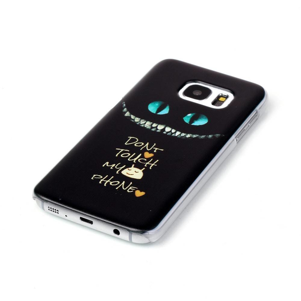 Don't touch my phone type 2 Hardcase hoesje Samsung Galaxy S7