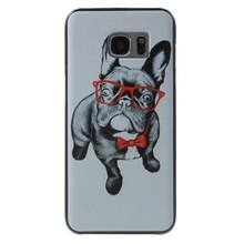 Hond met bril Hardcase hoesje Samsung Galaxy S7 edge