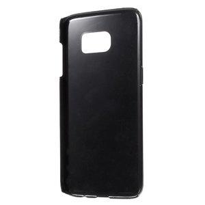 Be Happy plastic omhuld Aluminum Hardcase hoesje Samsung Galaxy S7 edge