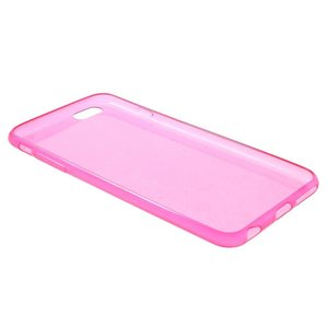 Roze slim fit iPhone 6 PLUS TPU hoesje