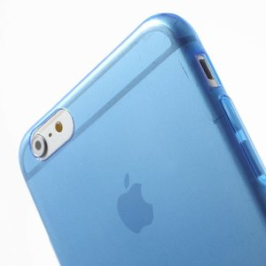 Blauwe slim fit iPhone 6 PLUS TPU hoesje