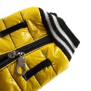 Geel jasje insteek hoesje voor de iPhone SE/5/5S