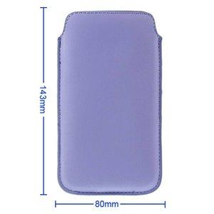 Insteek hoesje lavendel blauw