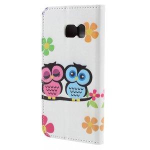 Lieve uiltjes Samsung Galaxy S7 portemonnee hoesje