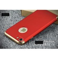 iPAKY Rode gegalvaniseerde harde plastic cover voor de iPhone 7