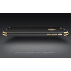 iPAKY Zwarte gegalvaniseerde harde plastic cover voor de iPhone 7