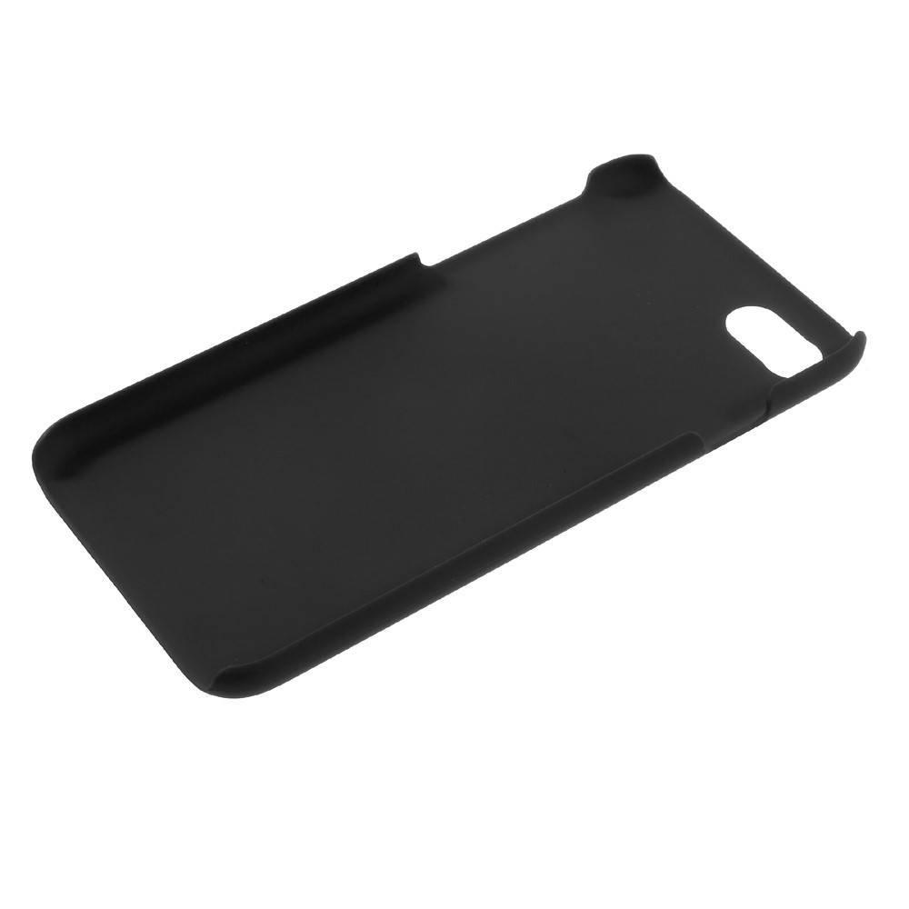 Zwarte hard met rubber bekleed iPhone 7 hoesje