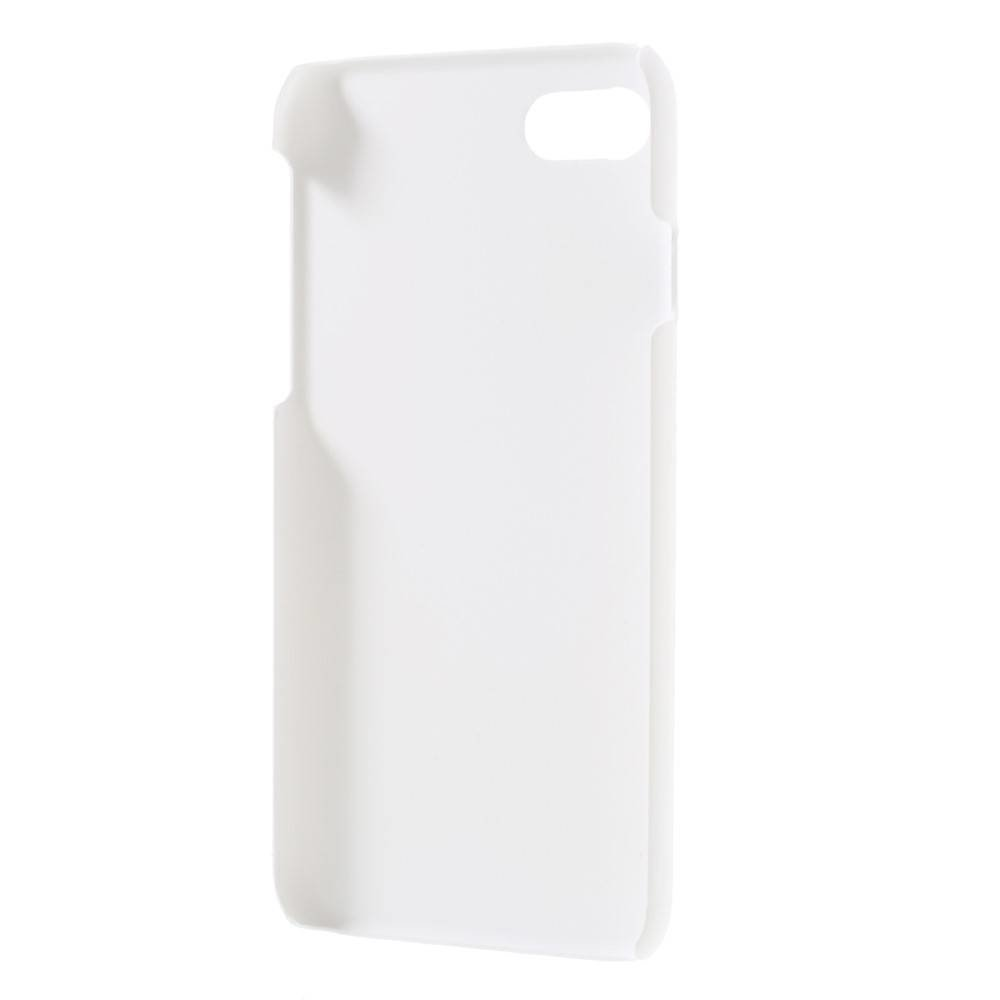 Witte hard met rubber bekleed iPhone 7 hoesje