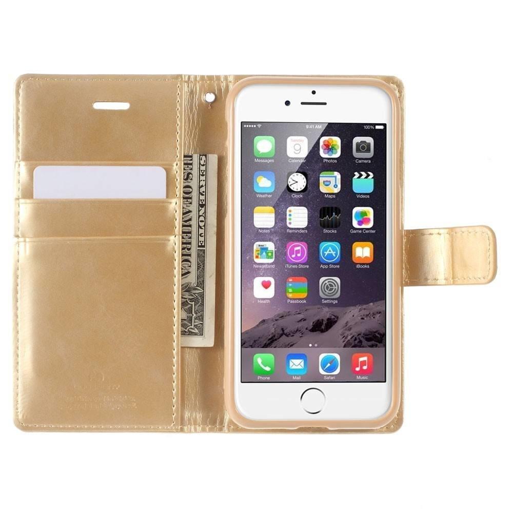 Goospery iPhone 7 portemonnee hoesje in diverse kleuren