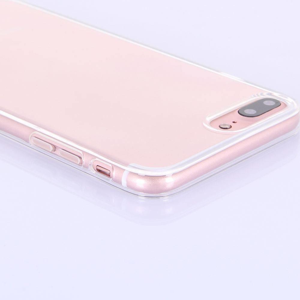 Transparant flexibel iPhone 7 plus TPu hoesje