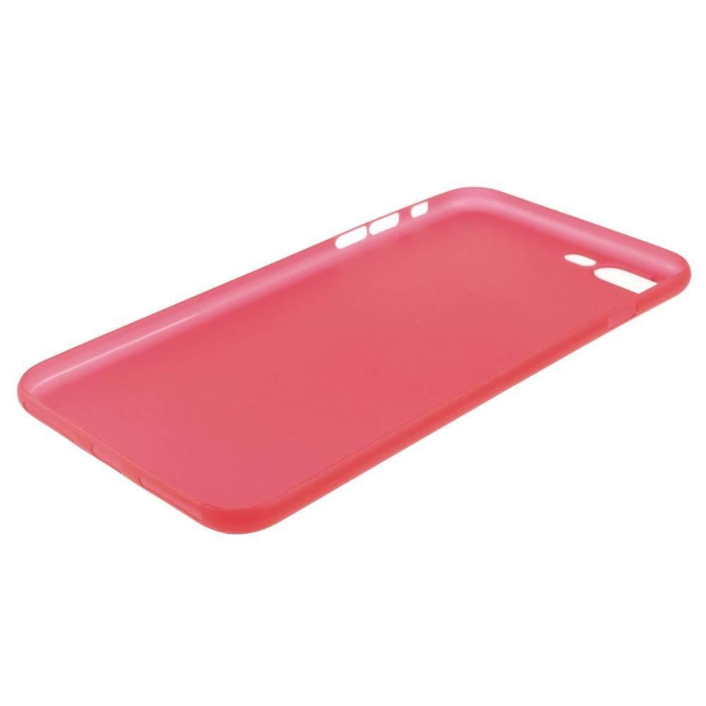 Ultradun Rood iPhone 7 plus TPu hoesje