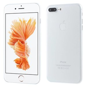 Ultradun Wit iPhone 7 plus TPu hoesje