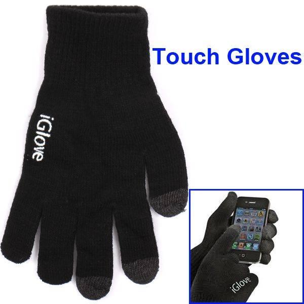 iGlove iGlove zwart voor iPhone, iPad en touch devices
