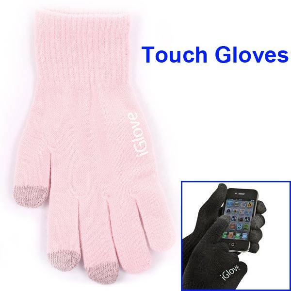 iGlove iGlove roze voor iPhone, iPad en touch devices