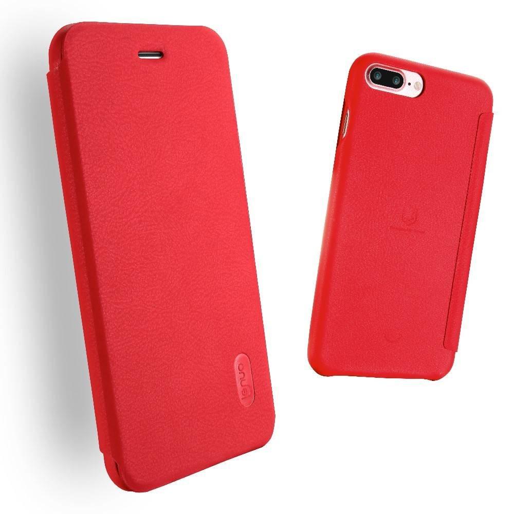 LeNuo Rode Ledream iPhone 7 plus flipboek style hoesje
