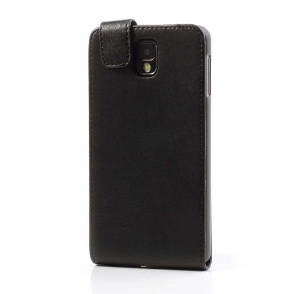 Galaxy Note 3 Flipcase PU Leder Zwart