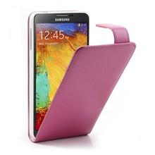 Galaxy Note 3 Flipcase PU Leder Roze