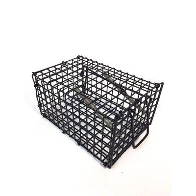 Draadval klein voor muizen en ratten 16x10x8cm