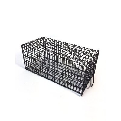 Draadval middel voor ratten 24x12,5x11cm