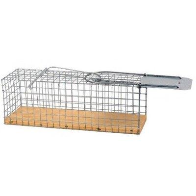 Rattenvangkooi met houten bodem - 2 stuks