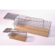 Rattenklem kunststof / metaal - 5 stuks