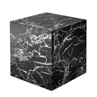 Marble Side Table 'Cube Link' 50 x 50 x 50cm