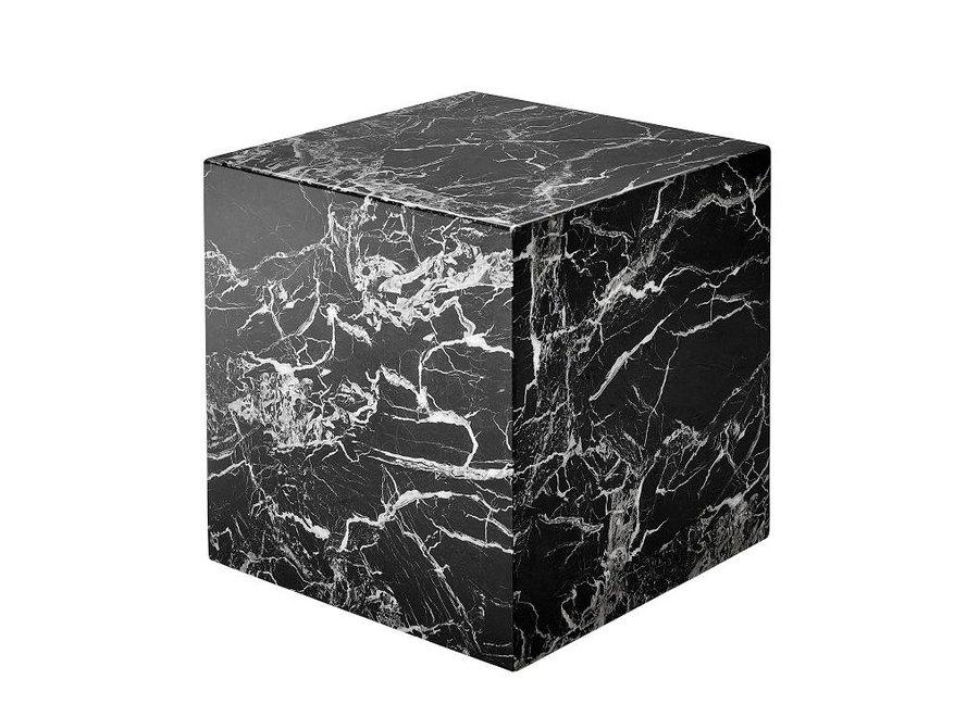 Marmeren bijzettafel 'Cube Link'