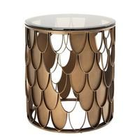 Design side table 'L'indiscret' 50x55cm