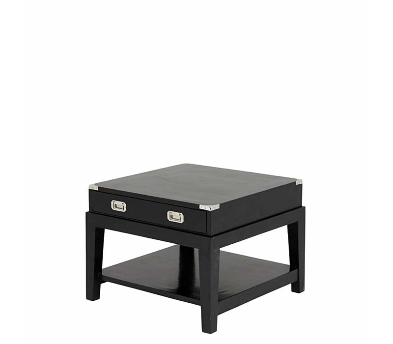 Side table 'Military' 67.5 x 67.5 x H50 cm