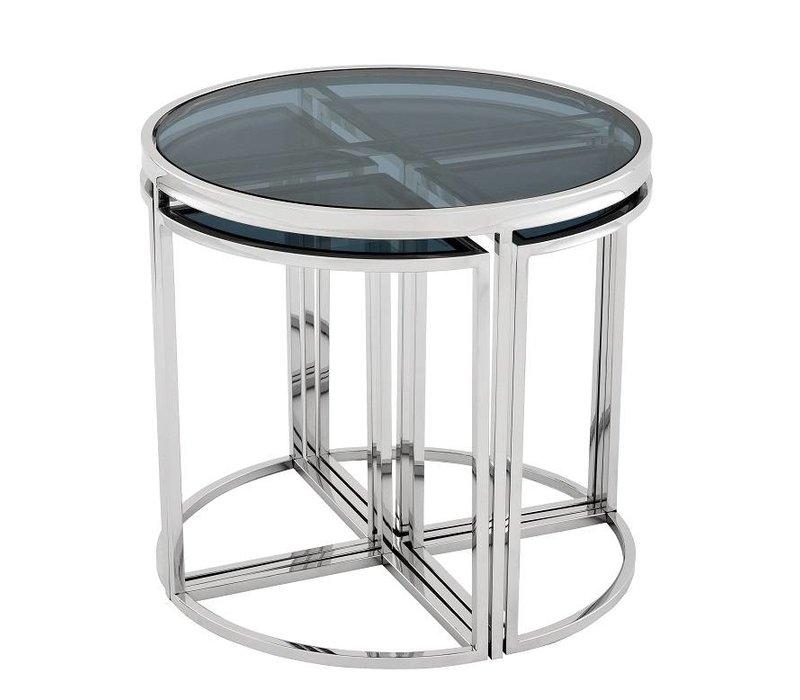 Design side table 'Vicenza' ø 60 x H. 55 cm