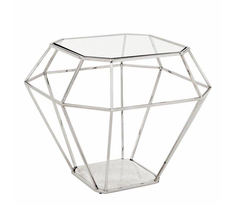 Design Side Table 'Asscher' 65 x 65 x H56cm