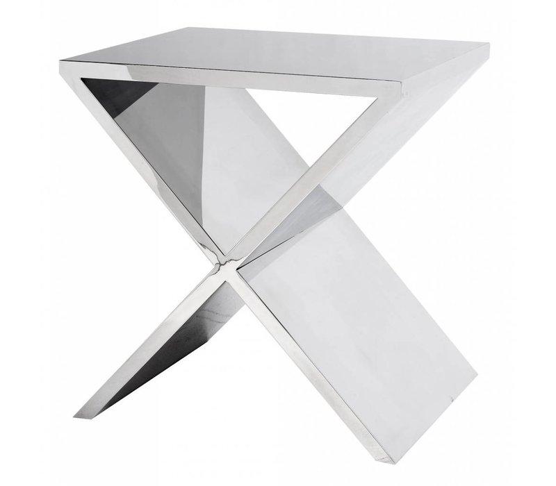 Designer-Beistelltisch Metropole 46 x 56 x H 59 cm