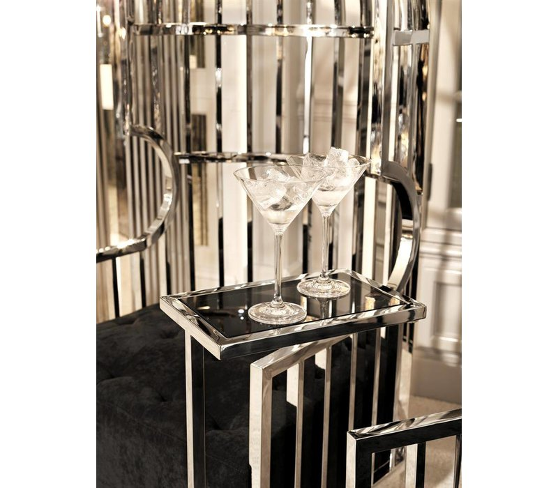 Tall side table'Paladin' 31 x 20 x H72 cm