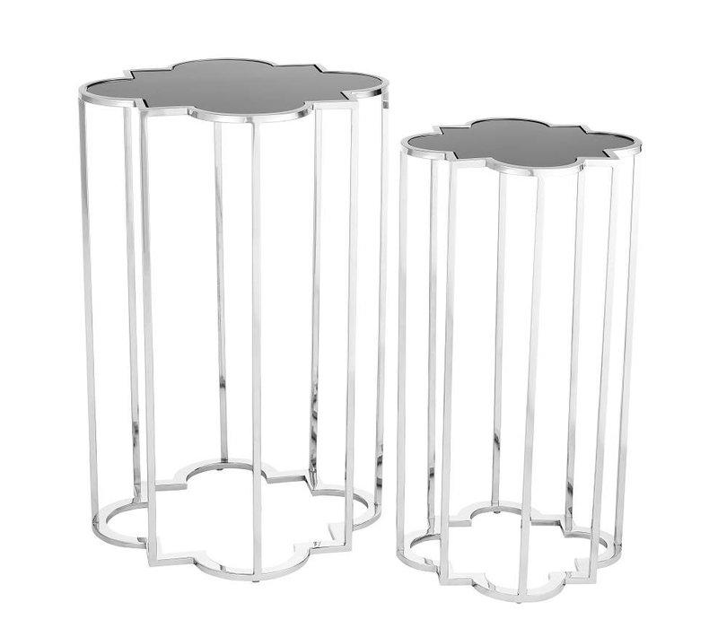 Design side tables 'Concentric' Set of 2