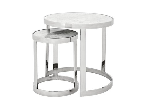 EICHHOLTZ Side table Fletcher Set of 2