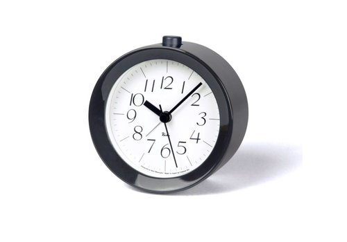 Lemnos Alarm clock 'RIKI' Grey/White
